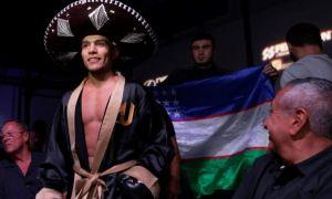 В субботу Ахмадалиев поднимется на ринг