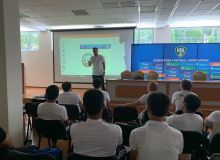 Под руководством Темура Кападзе стартовали четырехдневные подготовительные курсы АФУ