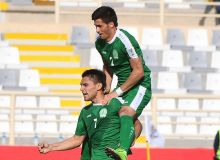 Arslanmurat Amanov targeting all three points from the Uzbekistan encounter