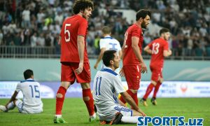 Photo Gallery. Uzbekistan 1-1 Syria