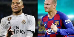 """Холанд """"Барселона""""га, Мбаппе эса """"Реал""""га ўтади"""