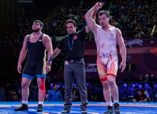 Six athletes claim medals in the 2018 Asian Wrestling Championships in Bishkek