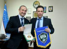 Состоялась рабочая встреча между представителями Ассоциации футбола Узбекистана и федерации футбола Венгрии