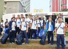 Основная часть спортивной делегации Узбекистана в Джакарте