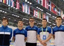 Десять медалей завоевали паралимпийцы в турнире Мировой серии по плаванию
