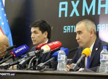 Photo Gallery. NOC organise press conference ahead of Boxing Night Tashkent event