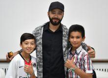 Юные послы проекта «Футбол для дружбы» получили ценные советы от Алишера Узакова