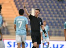 Uzbek referees work at international football matches
