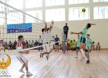 В Ташкентской области стартовал чемпионат Узбекистана по волейболу среди юниоров