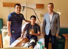 Игрок сборной Узбекистана успешно перенес операцию в Италии