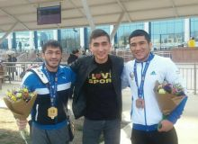 Uzbek judokas back home after they finish second place at Marrakech Grand Prix 2019