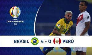 Бразилия Перуни тор-мор келтирди (видео)