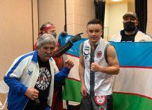 Kudratillo Abdukakhorov drops Flores, celebrates TKO victory