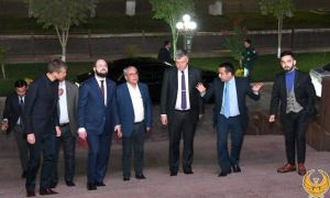 Руководитель международной федерации конного спорта посетил Национальный Олимпийский Комитет