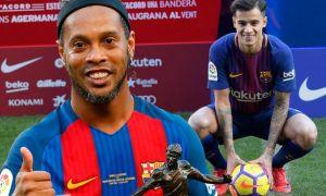 "Роналдиньо: Коутиньо келажакда ""Барселона"" етакчисига айланиши мумкин"