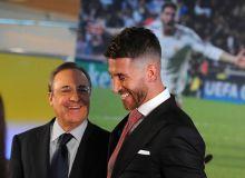 """Реал""даги реал муаммолар: Перес Рамосга қарши"