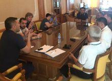 Умид Ахматджанов встретился с тренерами национальной и олимпийской сборных команд