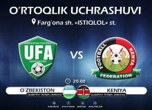 Ўзбекистон U-23 – Кения U-23: Вакилларимиз бугун реванш оладими?