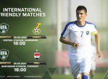 Товарищеские матчи национальной сборной Узбекистана пройдут в Намангане и Ташкенте