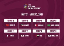 Centralised venues for Asian Qualifiers confirmed