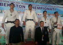 Победители и призеры второго соревновательного дня чемпионата страны по дзюдо