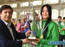 Закрытие XIV Чемпионата Узбекистана по футзалу среди женщин и награждение.