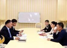 С федерацией настольного тенниса Узбекистана обсужден план подготовки спортсменов к Токио-2020