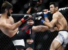 UFC Fight Night 168: Зубайра Тухугов нокаут эвазига ғалаба қозонди ва қолган натижалар