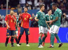 Германия - Испания баҳсида кучлар тенг келди (видео)