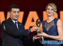 """Fotoreportaj """"2018 yilgi milliy sport mukofoti"""" bilan taqdirlanganlar haqida hikoya qiladi"""