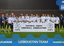 Сборная Узбекистана U-16 – серебряный призёр «CAFA U-16 championship-2019»