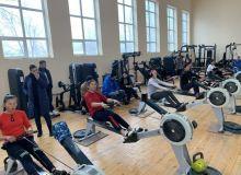 Чемпионат Узбекистана по гребле-индор в самом разгаре