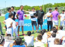Первый этап программы Real Madrid Foundation Clinic завершён