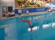 В столице стартовал чемпионат Узбекистана на призы НОК по прыжкам в воду