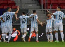 Америка кубоги. Аргентина Парагвай устидан кичик ҳисобда ғалаба қозонди