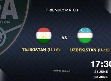 Сегодня сборная Узбекистана U-16 выйдет на поле против команды Таджикистана U-16