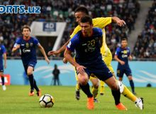 Uzbekistan Cup 2018. FC Bunyodkor secure a 1-0 win over FC Sogdiana