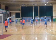 Сборная Узбекистана по футзалу провела тренировку перед матчем за 3-е место