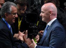 Осиё кубоги финалига ФИФА президенти ташриф буюрди