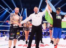 Sherzod Khusanov returns to the ring as Polish Robert Parzeczewski stunned by TKO