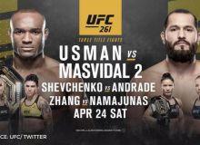 """""""UFC 261"""" ishtirokchilari """"Face to Face"""" marosimida ishtirok etdi (Video)"""