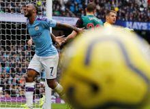 """""""Манчестер Сити"""" навбатдаги йирик ғалабасини тантана қилди (видео)"""