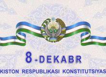 Поздравляем всех наших соотечественников с 26-летием Конституции Республики Узбекистан!