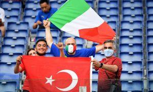 Евро-2020! Туркия - Италия: Матнли трансляция