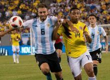 Мессисиз Аргентина Колумбия билан дуранг ўйнади (видео)
