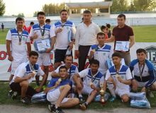 Футболисты Ахангарана оказались лучшими в Ташкентской области