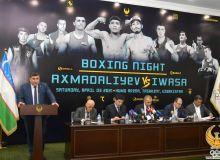 Прошла пресс-конференция посвященная вечеру бокса, который впервые пройдёт в Ташкенте