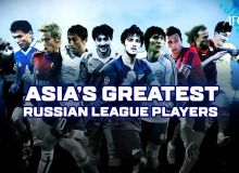 Asia's Greatest Russian Premier League Players