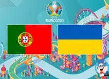 Португалия - Украина. Роналду ва Зинченко асосий таркибда