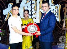 Генеральный секретарь НОК Жасур Матчанов стал гостем презентации бренда PRES-JOG